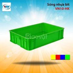 Sọt nhựa kín 1t9 giá rẻ
