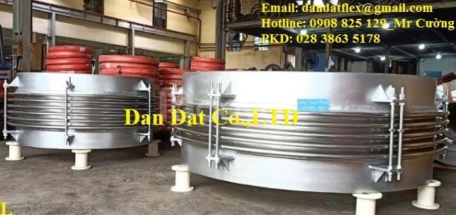 Khớp giãn nở + Ống bù giãn nở nhiệt DN1620x820