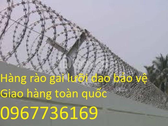 Lưới thép gai hình dao, lưới hàng rào hình dao