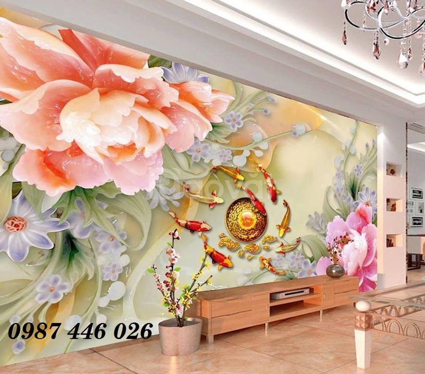Tranh 3d ốp tường- gạch 3d- tranh trang trí