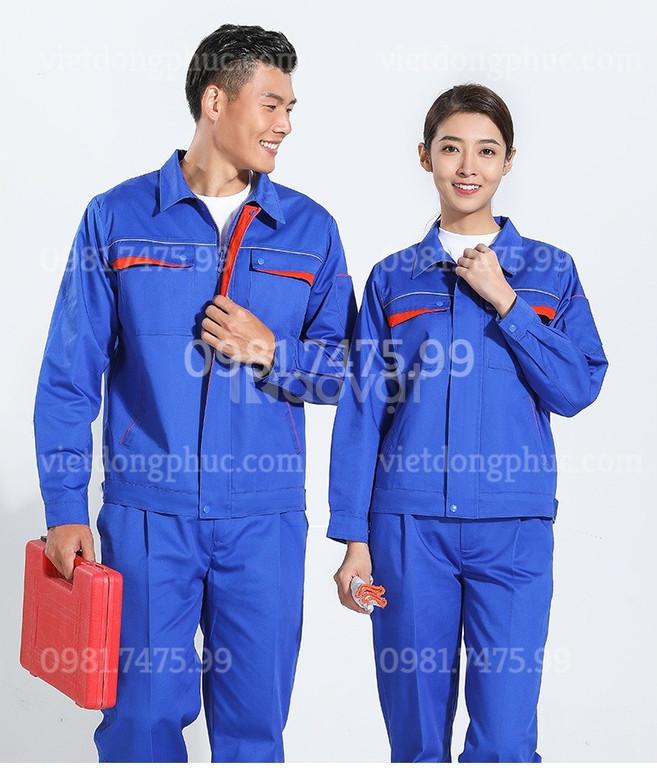 Địa chỉ may áo bảo hộ công nhân giá cả cạnh tranh, chất lượng, uy tín