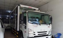 Isuzu 4.990kg, thùng Kín 6.2m, khuyến mãi máy lạnh