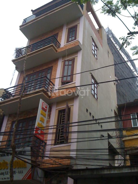 Cho thuê nhà 5 tầng mặt phố Thể Giao kinh doanh