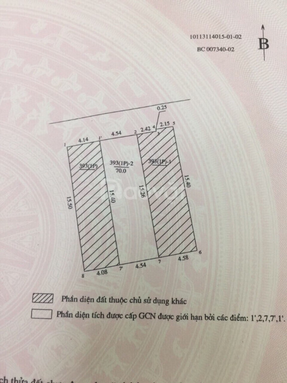 Chính chủ bán đất Yên Hoà, Cầu Giấy giá chỉ 58,5tr/m2