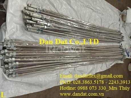 Báo giá ống mềm kết nối đầu phun chữa cháy, ống mềm sprinkler PCCC