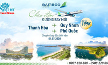 Bamboo Airways khai trương 3 đường bay mới Thanh Hóa – Quy Nhơn