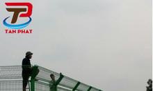 Hàng rào lưới thép, hàng rào mạ kẽm sơn tĩnh điện D4 a50*150, a100*200