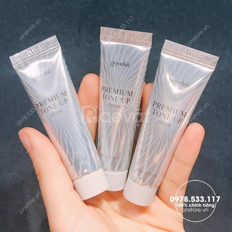 Kem ốc sên Goodal Premium Tone-up Cream 10ml chính hãng (Hàn Quốc)