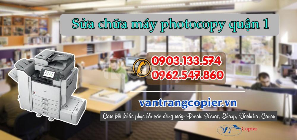 Sửa chữa máy photocopy quận 1