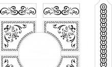 Nhận thiết kế corel logo, vẽ lại logo vector, vẽ file thiết kế laser