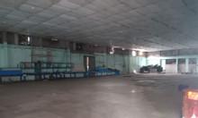 Cho thuê kho xưởng 2500m2 ngã tư nước đá Hóc Môn