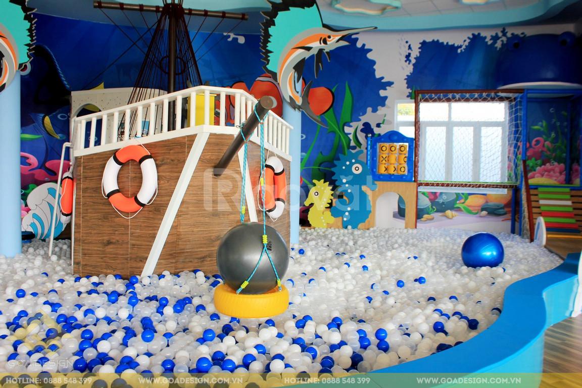 Thiết kế thi công trọn gói khu vui chơi trẻ em
