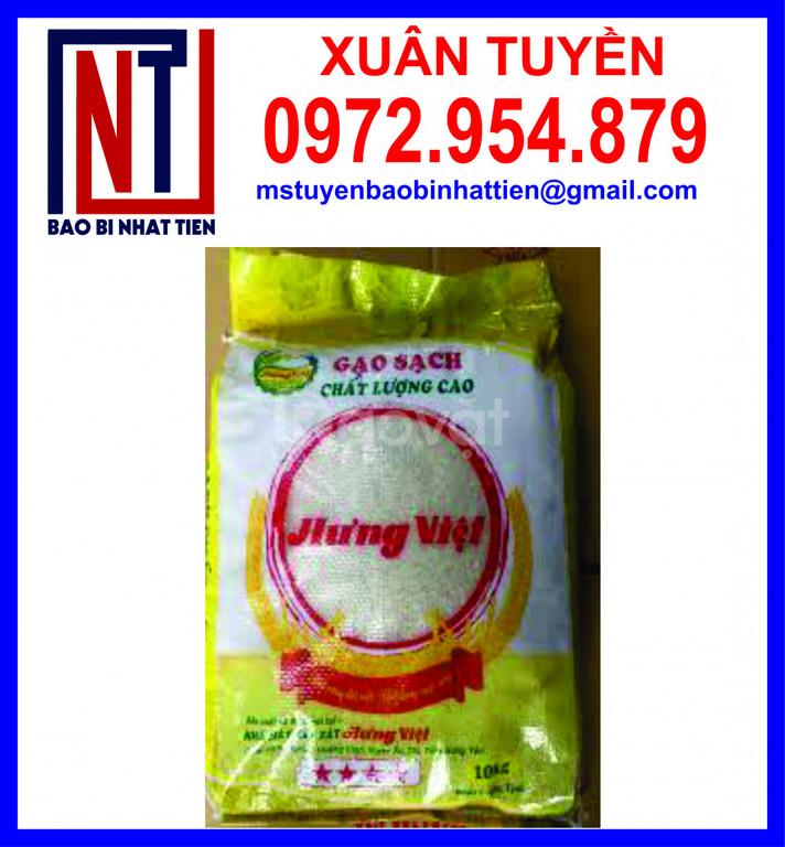 Chuyên cung cấp bao bì đựng gạo 10kg, 25kg