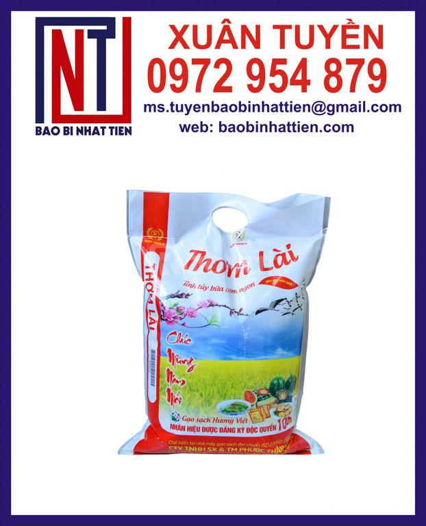 In bao bì gạo 5kg, túi PA đựng gạo (ảnh 8)