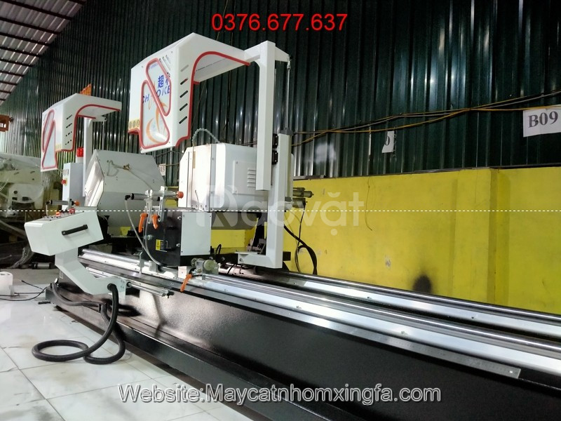 Giàn máy sản xuất cửa nhôm xingfa