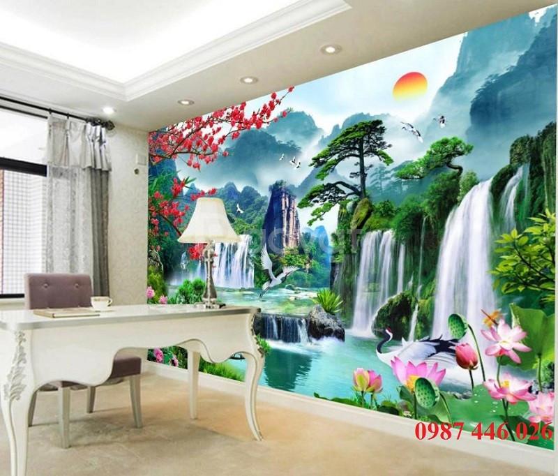 Tranh gạch dán tường, tranh trang trí 3d- gạch ốp lát