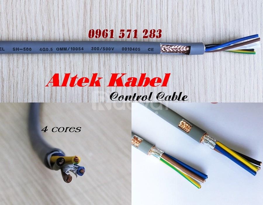 Cáp điều khiển, cáp tín hiệu 4 lõi hiệu Altek Kabel