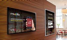 Màn hình quảng cáo LCD 55 inch treo tường