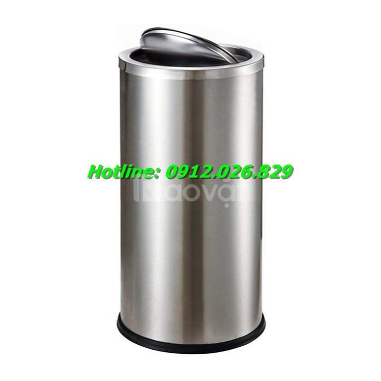 Gợi ý địa chỉ bán thùng rác inox nắp lật giá rẻ