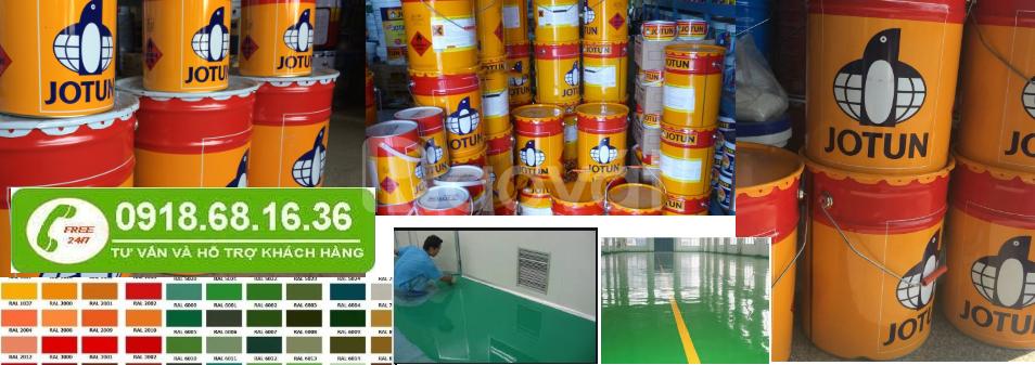 Nhà cung cấp sơn epoxy jotun cho công trình sắt thép tại TPHCM