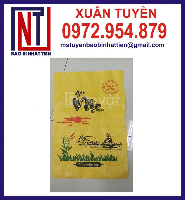 Cung cấp bao bì đựng gạo 10kg, 25kg