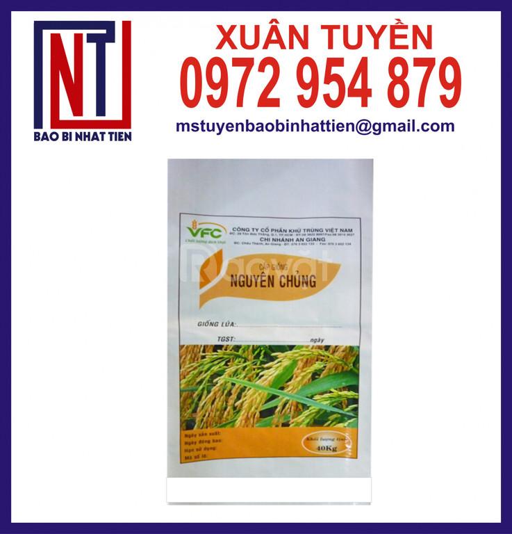 Bao lúa giống 40kg ghép màng