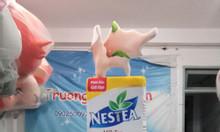 Mascot mô hình hộp sữa nestea- hộp sữa milo