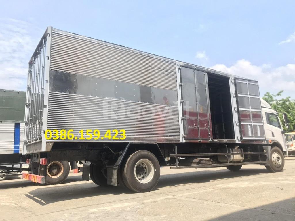 Giá xe tải faw 8 tấn thùng dài 8 mét | faw 2020 bảng giá mới