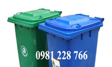 Những điều cần biết về thùng rác nhựa 100l,120l