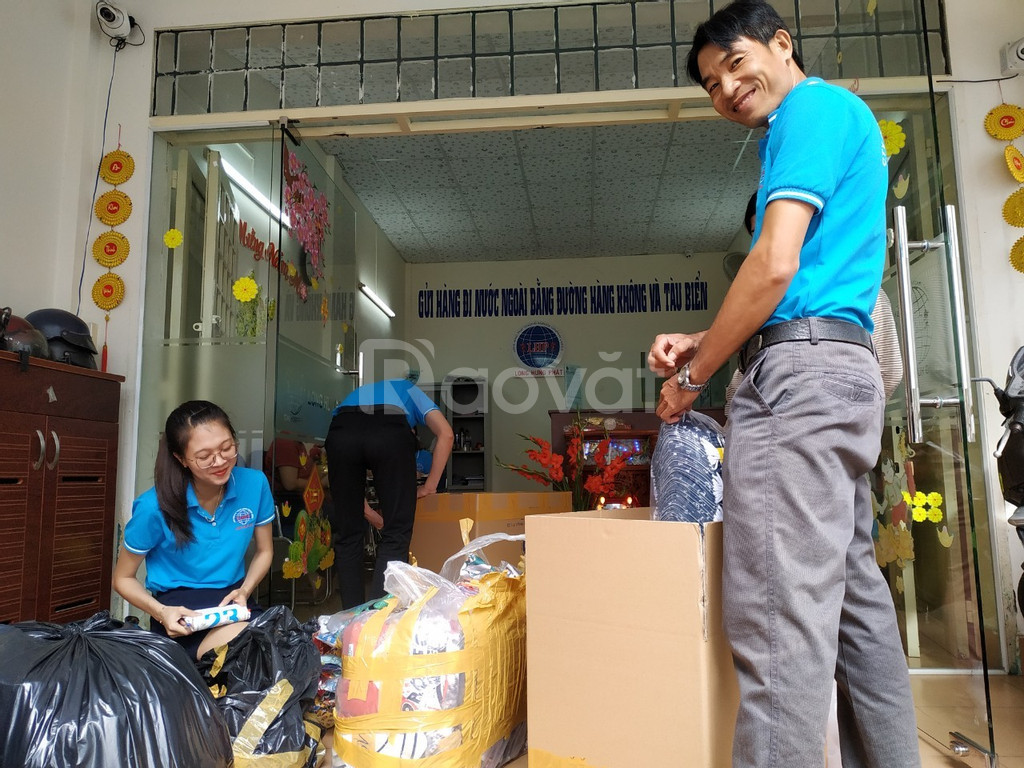 Nhận gửi hàng đi nước ngoài tại Cần Thơ, Sài Gòn và Đồng Nai