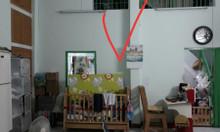 Nhà quận 10 đường Hoà Hưng,  52m2 1lửng 1lầu đúc, kiên cố, có sổ hồng