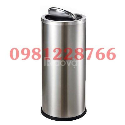 Thùng rác inox công nghiệp chất lượng cao