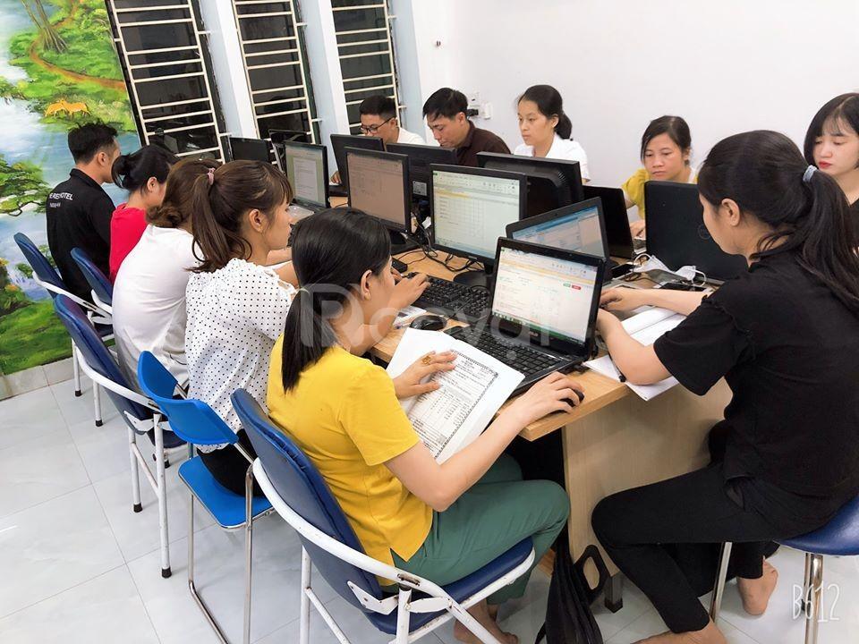 Khóa kế toán thực hành tổng hợp thực tế chuyên sâu tại Ninh Bình
