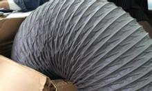 Phân phối ống gió mềm vải D75, D100, D125, D150 giá rẻ