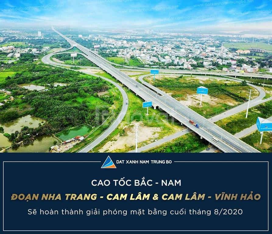 Bán đất trục đường Đinh Tiên Hoàng nối ra biển Bãi Dài Cam Lâm,1 tỷ/lô