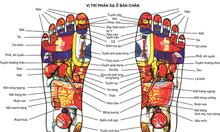 Massage chân để giảm bớt các bệnh về chân