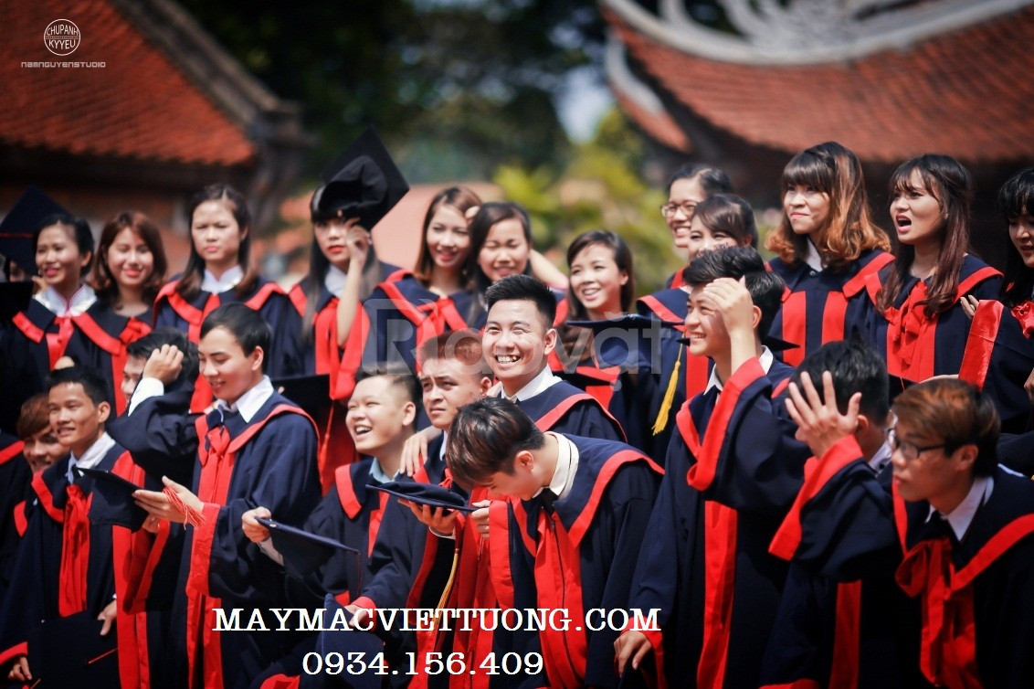 Xưởng may áo cử nhân, áo tốt nghiệp, lễ phục tốt nghiệp 2020
