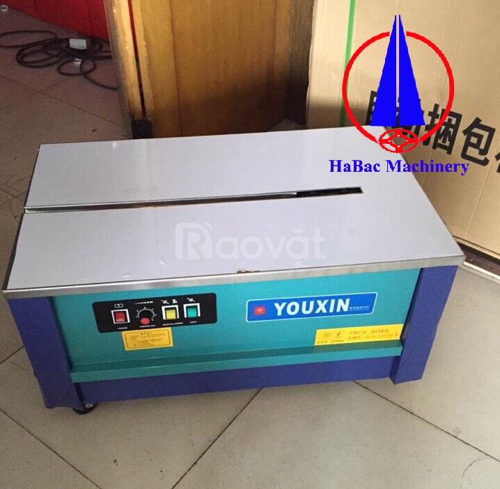 Máy đóng đai thùng Youxin dạng thấp