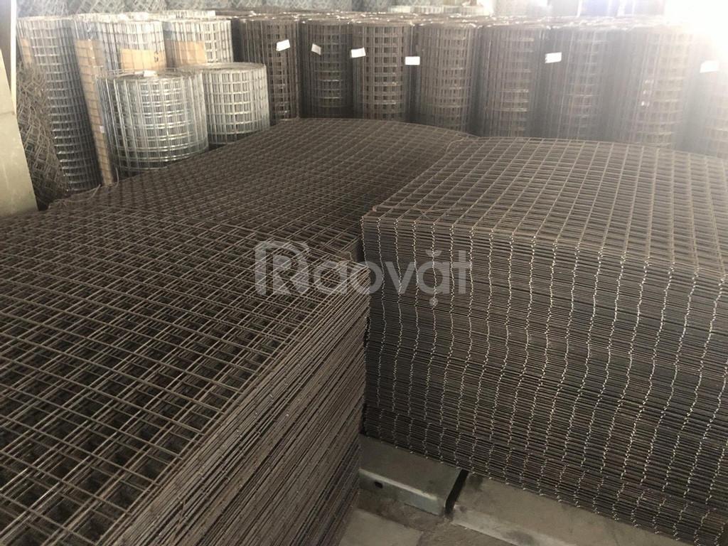 Đơn vị sản xuất lưới thép hàn đổ sàn phi 5 mắt 100,mắt 150,mắt 200 (ảnh 2)