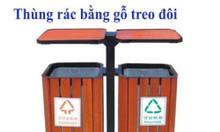 Địa chỉ cung cấp thùng treo đôi bằng gỗ giá rẻ tại Hà Nội