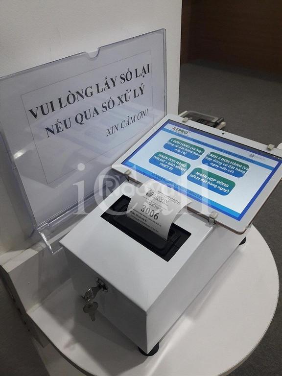 Máy in phiếu thứ tự tablet- công cụ lấy số thứ tự tự động