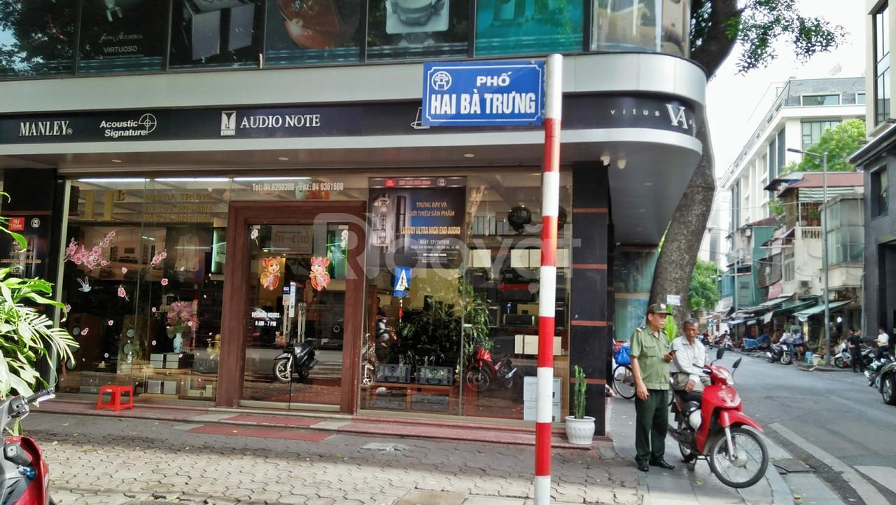 Bán nhà mặt phố tại đường Hai Bà Trưng, Quận Hoàn Kiếm Hà Nội