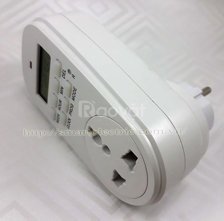 Ổ cắm hẹn giờ bật/ tắt đèn tự động GET02A giá rẻ