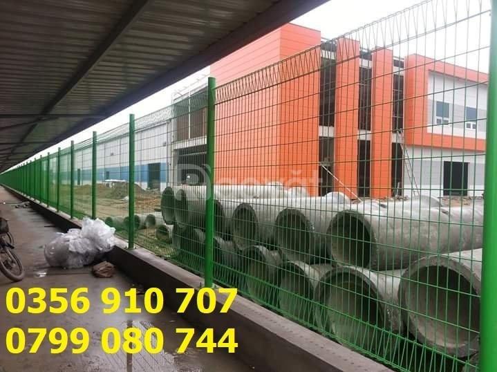 Hàng rào lưới thép, hàng rào mạ kẽm, hàng rào thép D5
