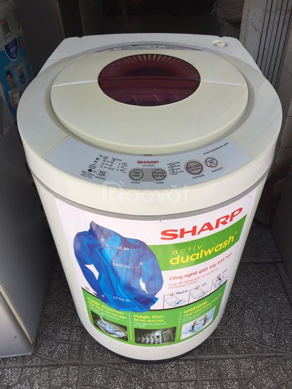 Máy giặt Sharp 7.5 kg, vỏ thùng nhựa, chống rỉ sét (ảnh 1)