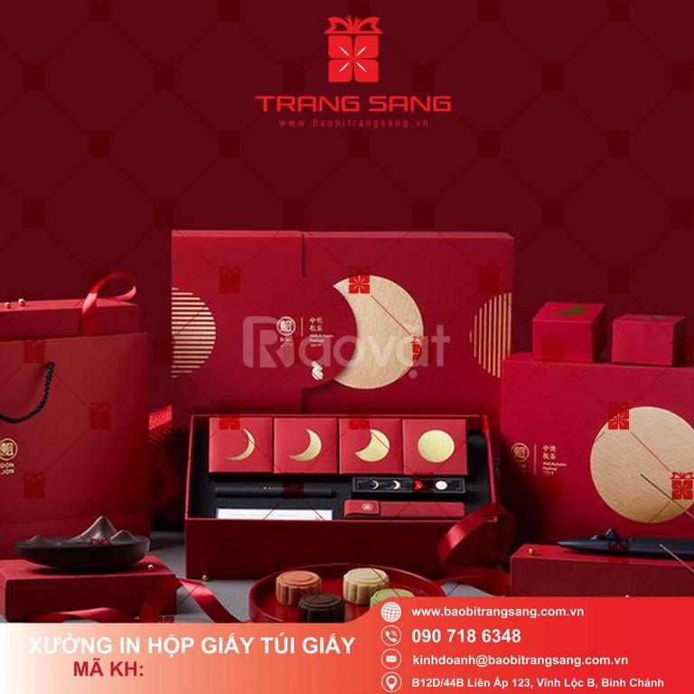 Thiết kế & in hộp bánh trung thu cao cấp rẻ đẹp tại Bao bì Trang Sang (ảnh 4)