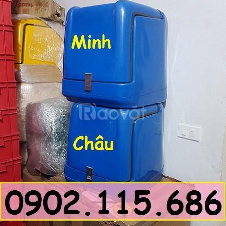 Thùng giao hàng nhanh, thùng ship đồ ăn, thùng chở hàng gia dụng