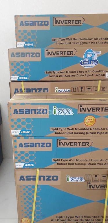 Máy Lạnh ASANZO inveter 1HP K09N66 - 1 HP