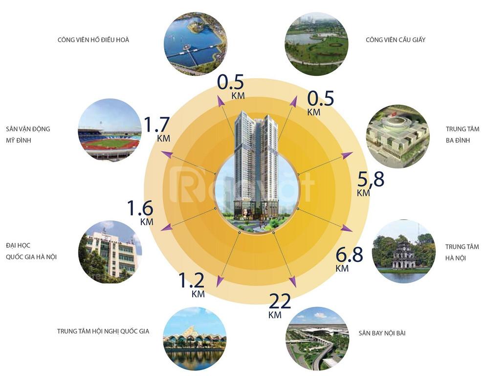 Mở bán đợt cuối dự án Golden Park, số 2 Phạm Văn Bạch