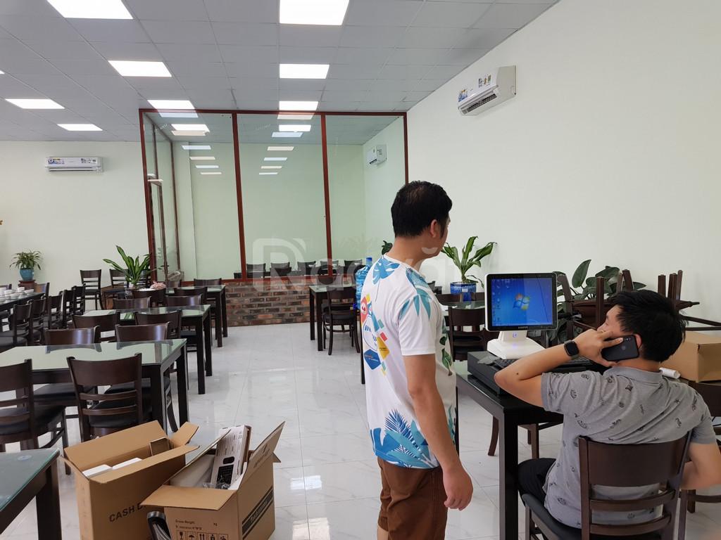 Bán trọn bộ máy tính tiền tại Vinh giá rẻ cho quán đồ ăn chay